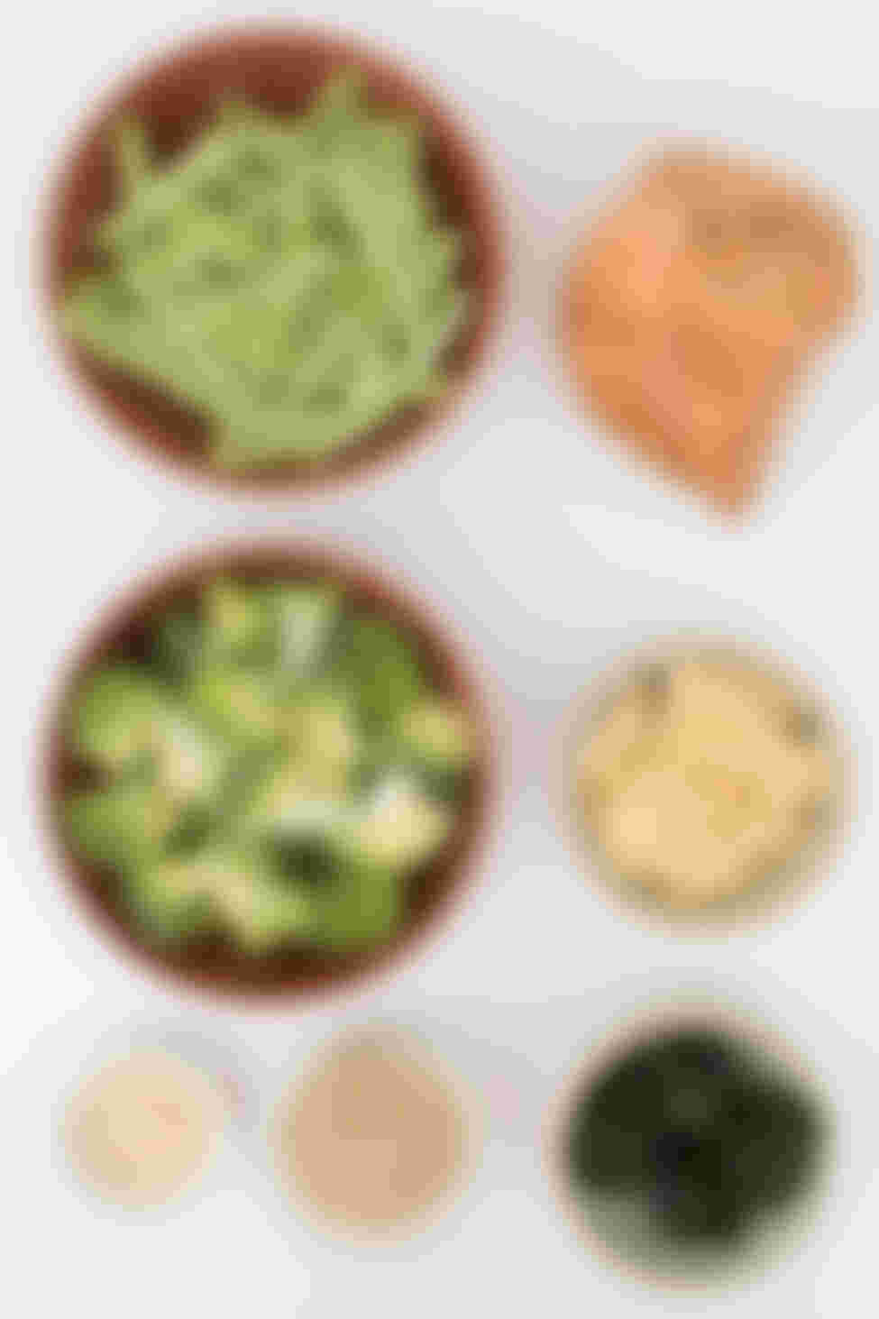 Steamed Vegetable Bowl ingredients
