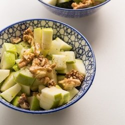 Apple, Broccoli and Walnut Salad